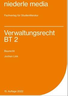 Verwaltungsrecht BT 2- Baurecht